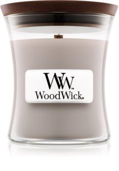 Woodwick Wood Smoke candela profumata con stoppino in legno