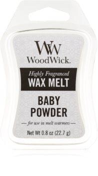 Woodwick Baby Powder tartelette en cire