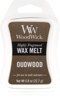 Woodwick Oudwood tartelette en cire