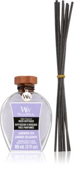 Woodwick Lavender Spa aroma diffuser with filling