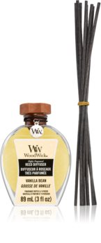 Woodwick Vanilla Bean aroma diffuser with filling