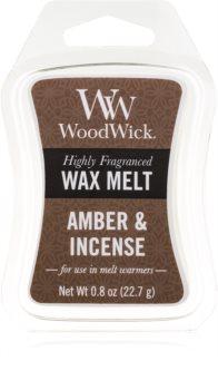 Woodwick Amber & Incense duftwachs für aromalampe