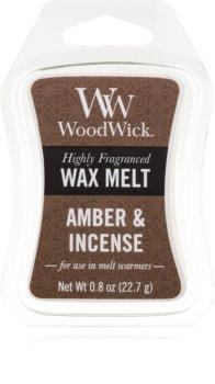 Woodwick Amber & Incense illatos viasz aromalámpába