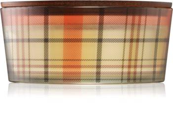 Woodwick White Teak świeczka zapachowa  z drewnianym knotem (hearthwick) I.