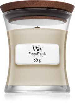Woodwick Smoked Jasmine scented candle Wooden Wick