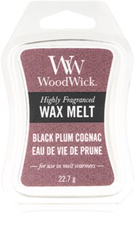 Woodwick Black Plum ceară pentru aromatizator