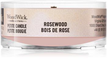 Woodwick Rosewood sampler z drewnianym knotem