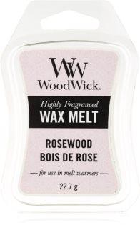 Woodwick Rosewood vaxsmältning