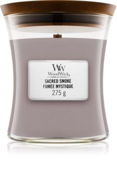 Woodwick Sacred Smoke scented candle Wooden Wick