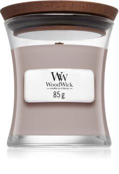 Woodwick Sacred Smoke geurkaars met een houten lont