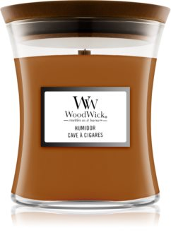 Woodwick Humidor scented candle