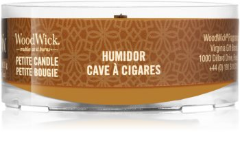 Woodwick Humidor votive candle Wooden Wick
