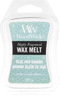 Woodwick Blue Java Banana wax melt