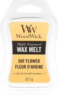 Woodwick Oat Flower cera per lampada aromatica