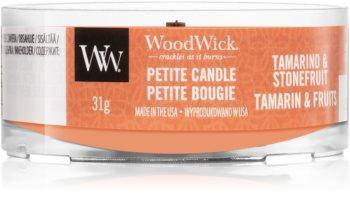 Woodwick Tamarind & Stonefruit bougie votive avec mèche en bois
