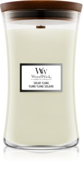 Woodwick Solar Ylang scented candle Wooden Wick