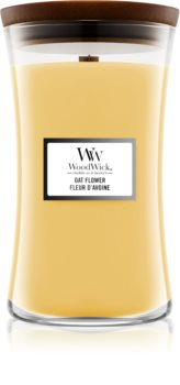 Woodwick Oat Flower scented candle Wooden Wick