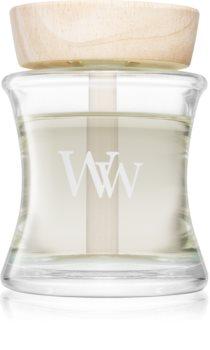 Woodwick Linen aromadiffusor med opfyldning I.