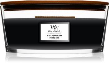 Woodwick Black Peppercorn ароматна свещ  с дървен фитил (hearthwick)