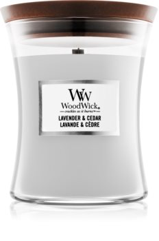Woodwick Lavender & Cedar duftlys
