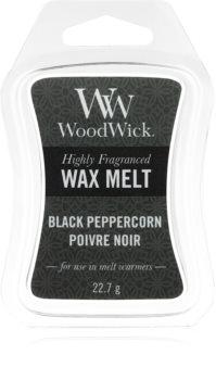 Woodwick Black Peppercorn tartelette en cire