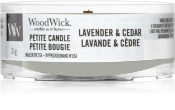 Woodwick Lavender & Cedar Kynttilälyhty