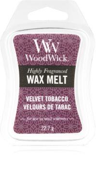 Woodwick Velvet Tobacco duftwachs für aromalampe