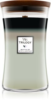 Woodwick Trilogy Mountain Trail scented candle