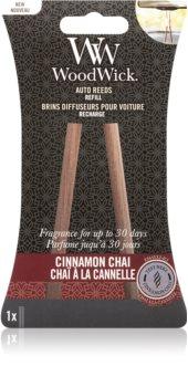 Woodwick Cinnamon Chai odświeżacz do samochodu napełnienie