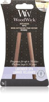 Woodwick Lavender Spa deodorante per auto ricarica