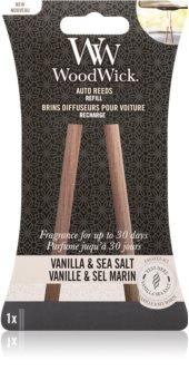 Woodwick Vanilla & Sea Salt Auton ilmanraikastin Täyttöpakkaus