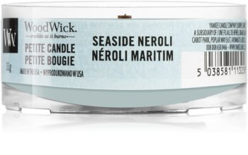 Woodwick Seaside Neroli вотивна свещ с дървен фитил