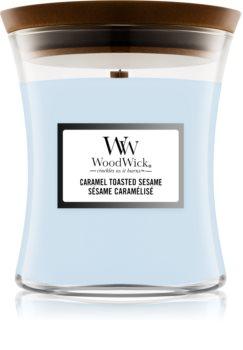 Woodwick Seaside Neroli mirisna svijeća s drvenim fitiljem