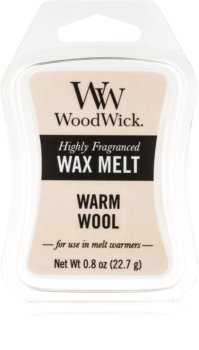 Woodwick Warm Wool duftwachs für aromalampe