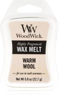 Woodwick Warm Wool tartelette en cire