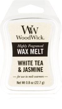 Woodwick White Tea & Jasmine cera per lampada aromatica