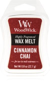 Woodwick Cinnamon Chai tartelette en cire