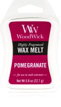 Woodwick Pomegranate wachs für aromalampen