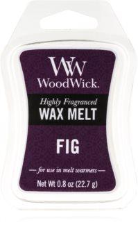Woodwick Fig cera per lampada aromatica