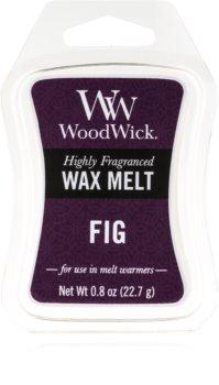 Woodwick Fig wachs für aromalampen