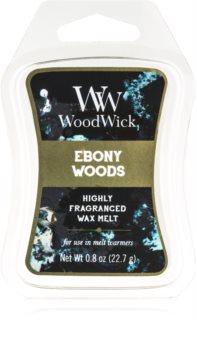 Woodwick Ebony Woods wax melt Artisan