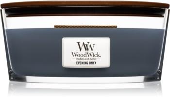 Woodwick Evening Onyx bougie parfumée avec mèche en bois (hearthwick)