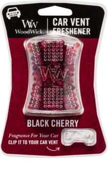 Woodwick Black Cherry vôňa do auta clip