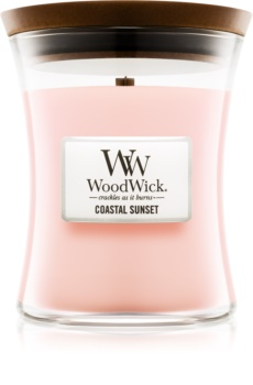 Woodwick Coastal Sunset scented candle Wooden Wick