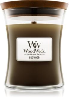 Woodwick Oudwood Tuoksukynttilä Puinen Sydän