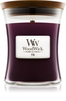 Woodwick Fig mirisna svijeća s drvenim fitiljem