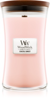 Woodwick Coastal Sunset illatos gyertya  fa kanóccal
