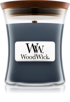 Woodwick Evening Onyx mirisna svijeća s drvenim fitiljem