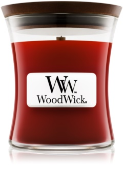 Woodwick Cinnamon Chai duftkerze  mit Holzdocht