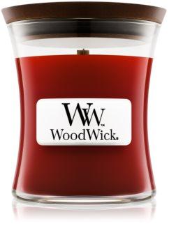 Woodwick Cinnamon Chai ароматическая свеча с деревянным фителем